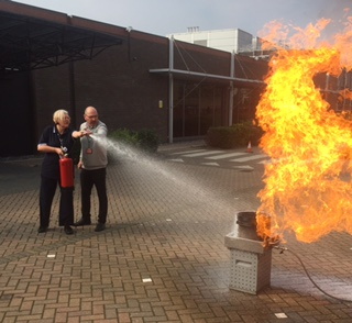 Fire marshal training London 6th June 2018
