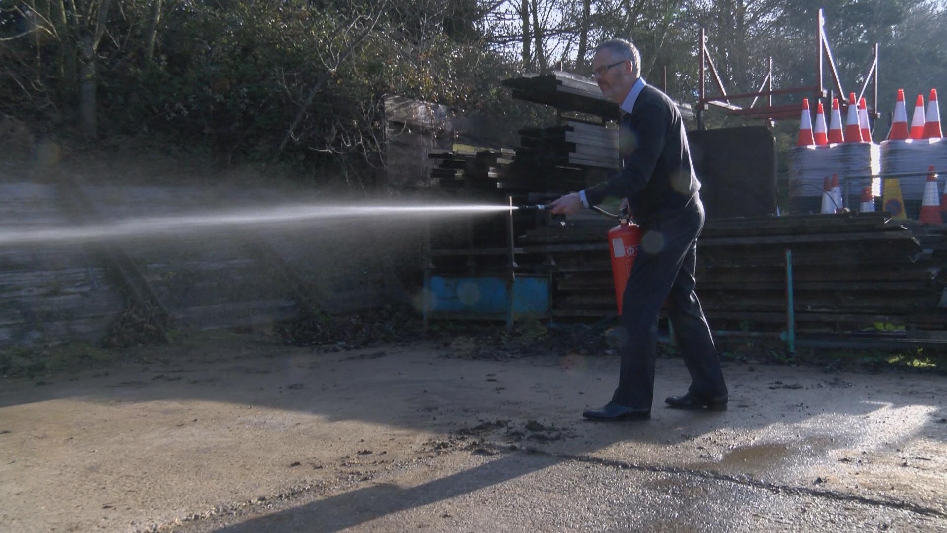 staff fire extinguisher training