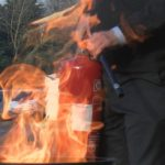 Fire extinguisher course London August, extinguisher course London August